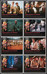 MERRY CHRISTMAS MR LAWRENCE 11x14's DAVID BOWIE original 1983 lobby card posters