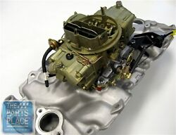 1970 Chevelle 454 Ls6 Intake And Carburetor Setup / Auto Trans - 3963569 And 4492