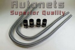 44 Stainless Steel Heater Hose Chevy Ford Gm Street Hot Rat Rod