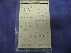 Vintage Micro Scale Decals By Studio No.72-64 172 Luftwaffe Aces 3