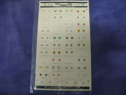 Vintage Micro Scale Decals By Studio No.72-9 172 Ww2 Luftwaffe Unit Insignia