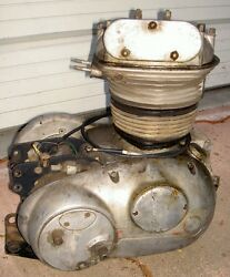 1959 Matchless 250cc G2/1631 Good Used Engine Assembly