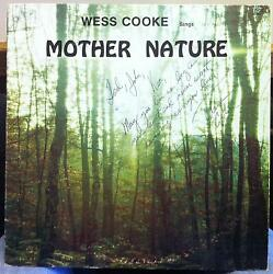 Wess Cooke Sings Mother Nature Lp Vg+ Private Press Country Soft Rock Va Usa Mp3