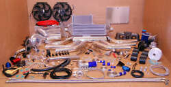 97-01 For Prelude Honda H22 T3t4 Turbo Charger Kit Cast 2.5 Intercooler+piping