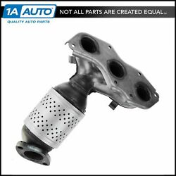 Exhaust Manifold Catalytic Converter Front For Avalon Camry Es350 Venza