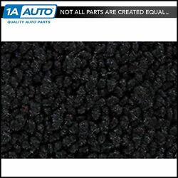 For 71-75 Chevy Corvette With Padding 80/20 Loop 01-black Complete Carpet Molded