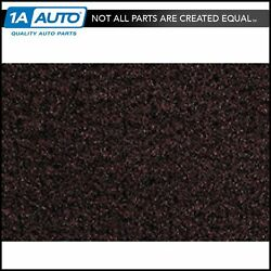 For 1996-05 Gmc Safari Cutpile 9933-ruby Red Extended Cargo Area Carpet Molded