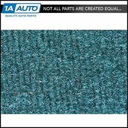 For 80-86 Bronco Without Wheel Wells Cutpile 802-blue Complete Carpet Molded