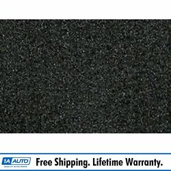 For 2004-12 Chevy Colorado Extended Cab Cutpile 912-ebony Complete Carpet Molded