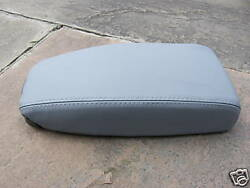 Fits Volvo 960 Grey Center Armrest Leather Cover Only Kit