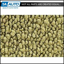 1963-65 Ford Falcon Convertible 04-ivy Gold Carpet Bucket Seats For Auto Trans