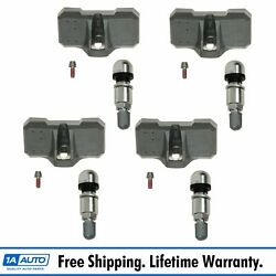 Tire Pressure Sensor Monitoring System Tpms 4 Piece Set Kit For Chevy Gmc Truck