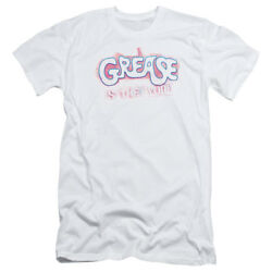 Grease Movie Grease Is The Word Adult Slim T-shirt Tee