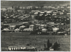 Russia, Village On The Outskirts Of Alma Ata Vintage Tirage Argentique 22x