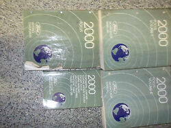 2000 Ford Focus Service Repair Shop Manual Set Factory Oem 00 Books How To Fix