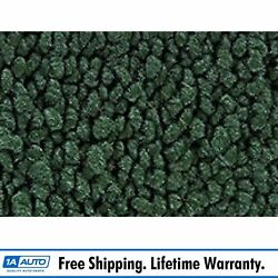 67-72 Chevy C10 Reg Cab W/o In Cab Tank Pass Carpet 08 Drk Green Low Tunnel Auto