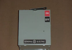 General Electric Ge Ac Ac461r 30 Amp 600v Fusible Fused Buss Bus Plug