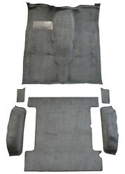 Replacement Flooring Set Complete For 85-91 Gmc Jimmy 19587-162 Mass Backing