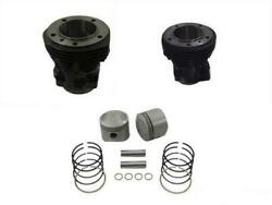 Vtwin 80 Front And Rear Cylinders Jugs And Piston Kit Harley Shovelhead Fl Fxr