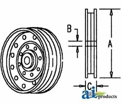 570265r91 Idler Pulley-flat Faced Fits Case-ih Combine 503 615 715 815..