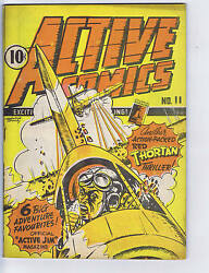 Active Comics 11 Bell Features Canadian Edition Active Jim ,classic Cover