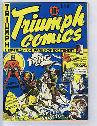 Triumph Comics #8 Bell Features  CANADIAN EDITION