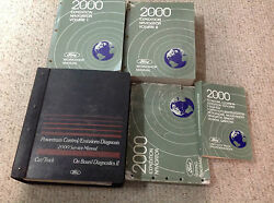 2000 FORD EXPEDITION & LINCOLN NAVIGATOR Service Shop Manual Set W PCED & EWD