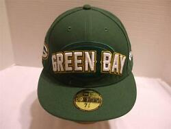 Nfl Green Bay Packers Licensed 59fifty New Era Baseball Hat Cap 7 3/8 Fitted New