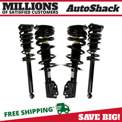 Front And Rear Complete Strut And Coil Spring Assembly Set Of 4 For Cavalier 2.4l