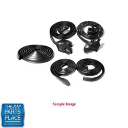 1966-67 Dodge Charger Weatherstrip Seal Kit 5 Pieces