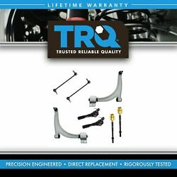 Trq Tie Rod Sway Bar Link And Control Arm Front Set Of 8 For Chevy Pontiac Saturn