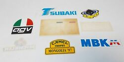 1990and039s Decals Stickers Marks Givi Tsubaki Camel Mbk Ufo Chesterfield 31