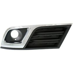 New Fog Light Trim Driving Lamp Driver Left Side Chevy Lh Hand Gm1038148