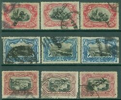 Mexico 1900. Scott O56-58. 3 Stamps @ All Are Fresh And Vf Used Incl Invt Ovpts