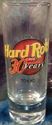 Hard Rock Cafe Tokyo 2001 30 Years 4 Shot Glass Cordial Hrc 30th Anniversary