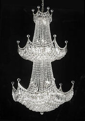 French Empire Empress Crystal Tm Chandelier Chandeliers Lighting H 66 W 36