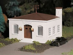 Bachmann Plasticville O Gauge Police Station Train Building Structure Bac45609