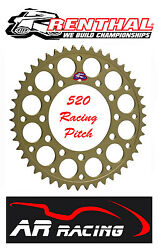 Renthal 41 T Rear Sprocket To Fit Dymag Wheels Year 2000 On 520 Race Pitch