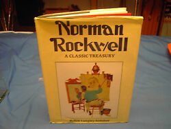 Norman Rockwell A Classic Treasury Author Robin Langley Sommer Hard Back Book