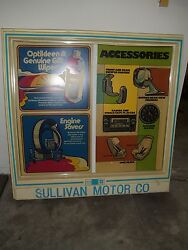 Chevrolet Chevy Dealership Advertising Sign Parts Department Sales New Used Cars