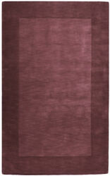 Surya Plum 8 X 11 Hand Knotted Wool Border Casual Area Rug - Approx 8and039 X 11and039
