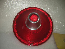1961 Ford Taillight Lens Without Backup Lamp New Vintage Replacement Nors