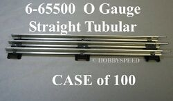 Lionel O Gauge Track Lot 0 Train Track Case Of 100 Straights 6-65500 New Case
