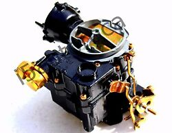 Marine Carburetor 2bbl Rochester Replaces Mercarb 3310-860070a2 4cyl 2.5 / 3.0