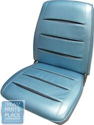 68 Charger / R/t Lt Met Blue/navy Bucket Seat Cover And Hardtop Rear And Armrest Pui