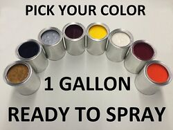 Pick Your Color - Ready To Spray - 1 Gallon Of Paint For Mercedes Benz Car / Suv