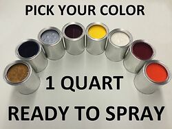 Pick Your Color - Ready To Spray - 1 Quart Of Paint For Nissan Car Truck Suv Rts