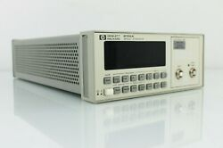 Agilent Hp 8156a Optical Attenuator With Option 201 - Calibration Included