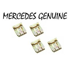 For Mercedes R107 W108 W109 Set Of 4 Genuine Shift Linkage Clips 000 994 41 60