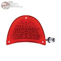 57 Chevy Belair 150 201 Rear Red Led Tail Light Lens Ea. New